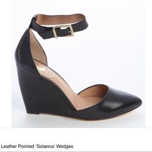 Vince Camuto Signature Solanna Leather Wedge Shoes